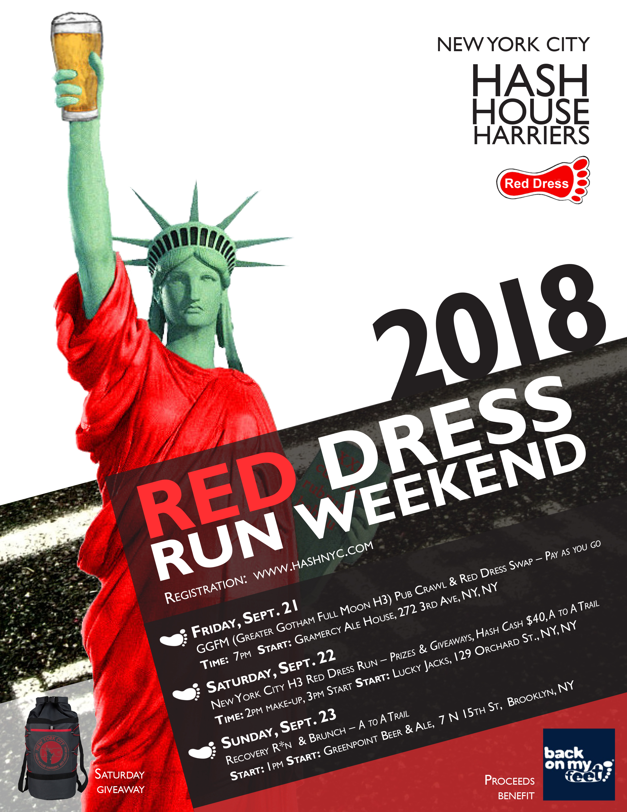 Red Dress Run 2018